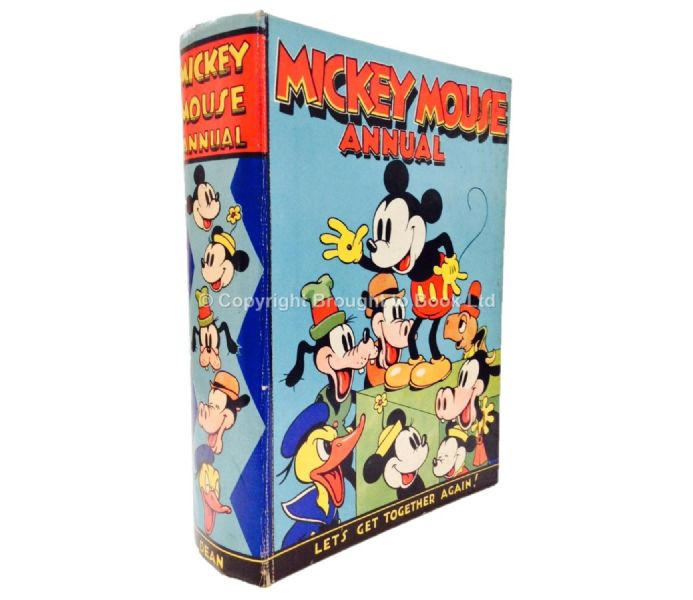 Mickey Mouse Annual 1938 Dean & Son Ltd 1937